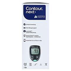 CONTOUR Next NEU Set Blutzuckermessgerät mg/dl 1 Stück - Linke Seite