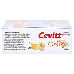 CEVITT immun heiße Orange zuckerfrei Granulat 14 Stück - Rechte Seite