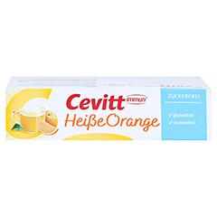 CEVITT immun heiße Orange zuckerfrei Granulat 14 Stück - Linke Seite