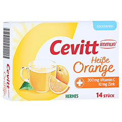 CEVITT immun heiße Orange zuckerfrei Granulat 14 Stück