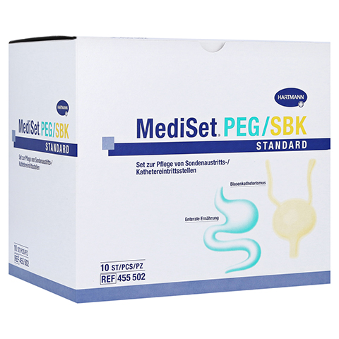 MEDISET PEG/SBK Standard Kombipackung 10 Stück