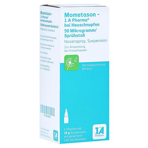 Mometason-1A Pharma bei Heuschnupfen 50µg/Sprühstoß 18 Gramm