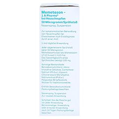 Mometason-1A Pharma bei Heuschnupfen 50µg/Sprühstoß 18 Gramm - Rechte Seite