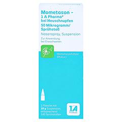 Mometason-1A Pharma bei Heuschnupfen 50µg/Sprühstoß 18 Gramm - Rückseite