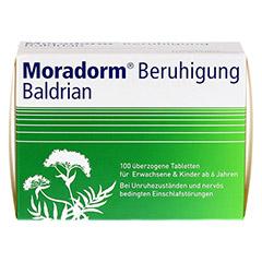 Moradorm Beruhigung Baldrian 100 Stück - Vorderseite
