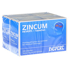 ZINCUM HEVERT N Tabletten 200 Stück N2