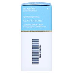 BIOCHEMIE DHU 18 Calcium sulfuratum D 6 Tabletten 200 Stück N2 - Rechte Seite