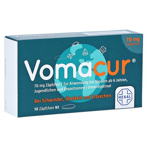 Vomacur 70mg 10 Stück N1