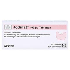 Jodinat 100µg 50 Stück N2 - Vorderseite