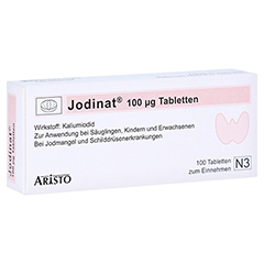 Jodinat 100µg 100 Stück N3