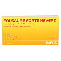 Folsäure forte-Hevert 10x2 Milliliter N2 - Vorderseite