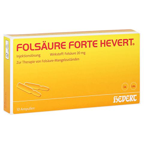 Folsäure forte-Hevert 10x2 Milliliter N2
