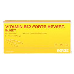 Vitamin B12 Hevert forte Injekt Ampullen 20x2 Milliliter N3 - Vorderseite