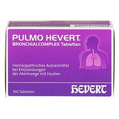 PULMO HEVERT Bronchialcomplex Tabletten 100 Stück N1 - Vorderseite