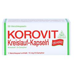 KOROVIT Kreislauf-Kapseln 50 Stück - Vorderseite