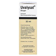 Uvalysat Bürger 30 Milliliter N1 - Rechte Seite