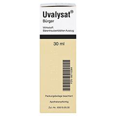 Uvalysat Bürger 30 Milliliter N1 - Linke Seite