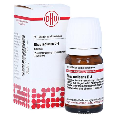 RHUS RADICANS D 4 Tabletten 80 Stück N1