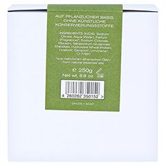 Klar Haarseife & Körperseife Olive/Lavendel 250 Gramm - Rückseite