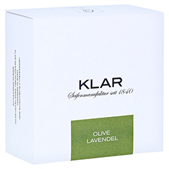 Klar Haarseife & Körperseife Olive/Lavendel 250 Gramm