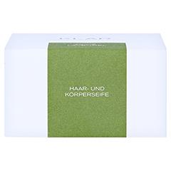 Klar Haarseife & Körperseife Olive/Lavendel 250 Gramm - Oberseite