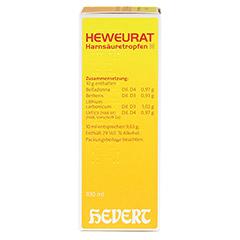 Heweurat Harnsäuretropfen N 100 Milliliter N2 - Linke Seite