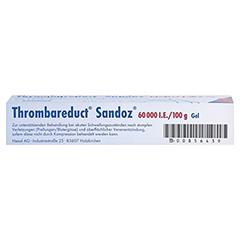 Thrombareduct Sandoz 60000I.E./100g 40 Gramm N1 - Unterseite