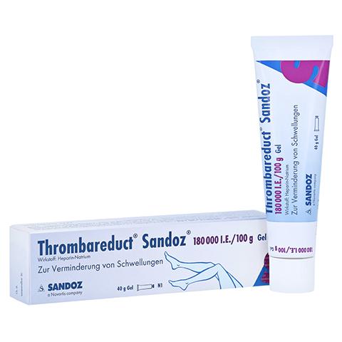 Thrombareduct Sandoz 180000I.E./100g 40 Gramm N1