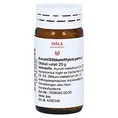 AURUM/STIBIUM/Hyoscyamus Globuli 20 Gramm N1