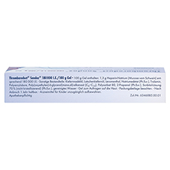 Thrombareduct Sandoz 180000I.E./100g 40 Gramm N1 - Oberseite