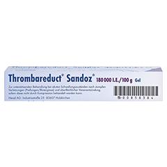 Thrombareduct Sandoz 180000I.E./100g 40 Gramm N1 - Unterseite