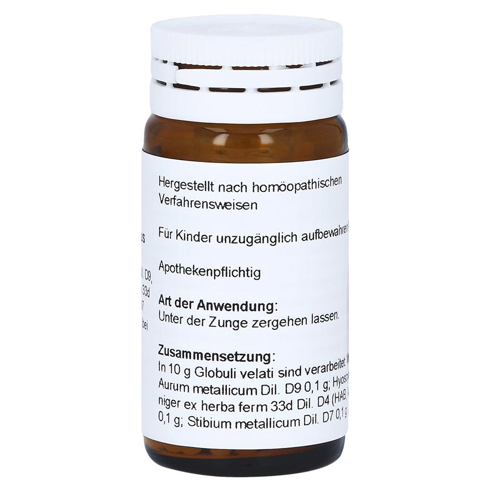 Erfahrungen Zu Aurum Stibium Hyoscyamus Globuli 20 Gramm N1 Medpex Versandapotheke