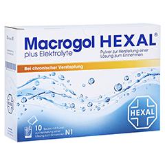 Macrogol HEXAL plus Elektrolyte 10 Stück N1