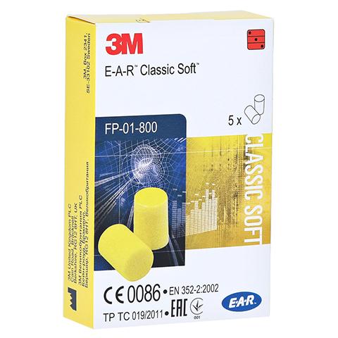EAR Classic Soft Gehörschutzstöpsel 10 Stück