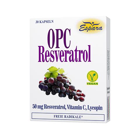 OPC RESVERATROL Kapseln 30 Stück
