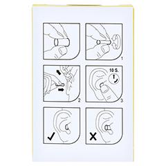 EAR Classic Soft Gehörschutzstöpsel 10 Stück - Rückseite