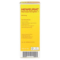 Heweurat Harnsäuretropfen N 100 Milliliter N2 - Rechte Seite