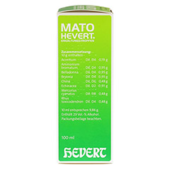 MATO Hevert Erkältungstropfen 100 Milliliter N2 - Rechte Seite