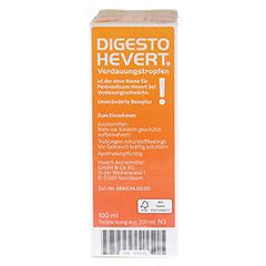 DIGESTO Hevert Verdauungstropfen 200 Milliliter N3 - Rechte Seite