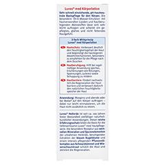 LUVOS Naturkosmetik MED Körperlotion 200 Milliliter - Rückseite