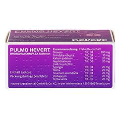 PULMO HEVERT Bronchialcomplex Tabletten 100 Stück N1 - Unterseite