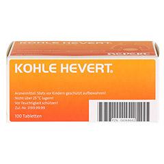 Kohle-Hevert 100 Stück - Unterseite