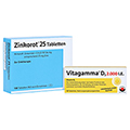 Zinkorot 25 + gratis Vitagamma D3 2.000 i.E. 10er Muster 100 Stück N3