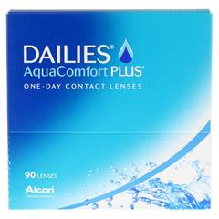 Dailies Aqua Comfort Plus, 90er 90 Stück - Vorderseite