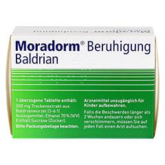 Moradorm Beruhigung Baldrian 100 Stück - Rückseite