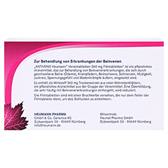 ANTIVENO Heumann Venentabletten + gratis Lippenpflegestift 90 Stück - Rückseite