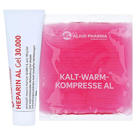 Heparin AL Gel 30000 + gratis Aliud Pharma Kalt-Warm Kompresse 100 Gramm N2