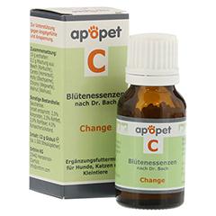 APOPET C Change Blüteness.n.Dr.Bach Glob.vet. 12 Gramm