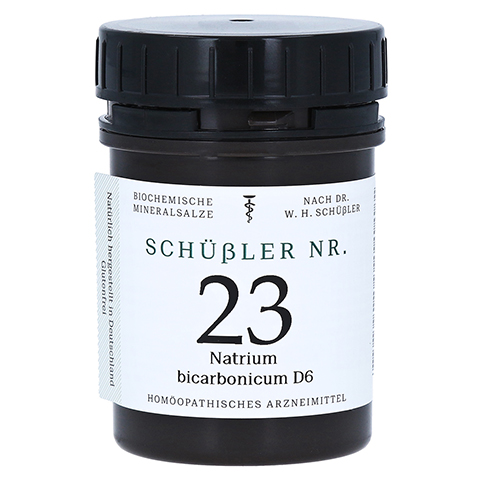 SCHÜSSLER Nr.23 Natrium bicarbonicum D 6 Tabletten 400 Stück