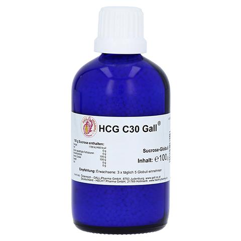 HCG C30 Gall Globuli 100 Gramm